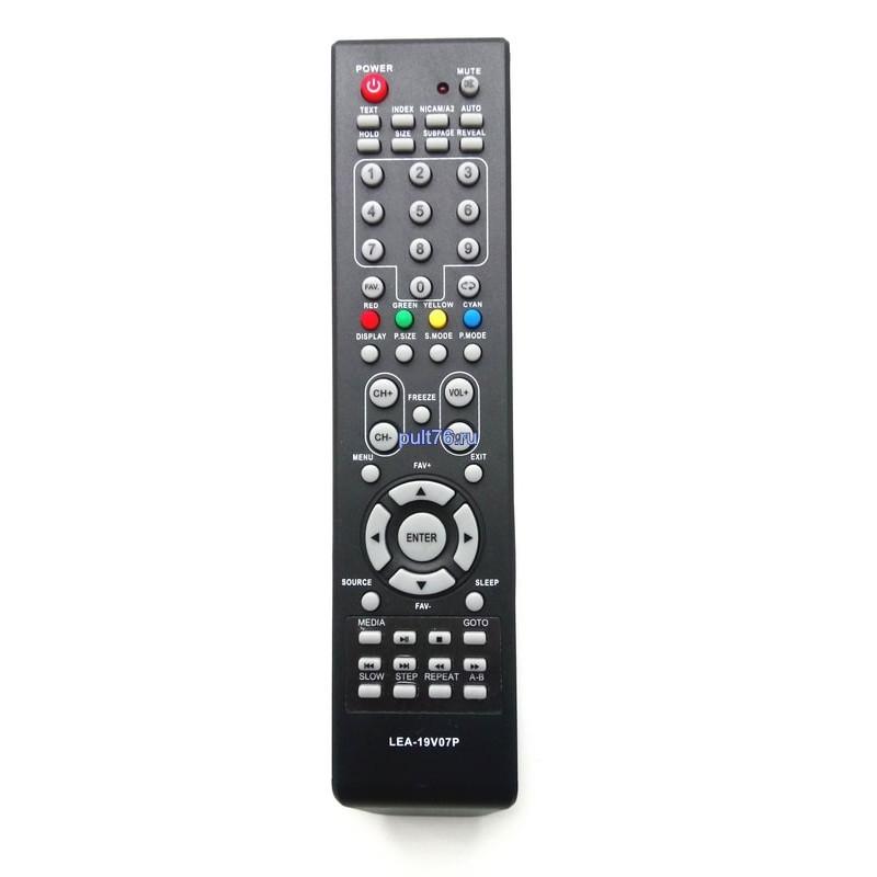 Пульт для телевизора Akai (Акай) LEA-19V07P