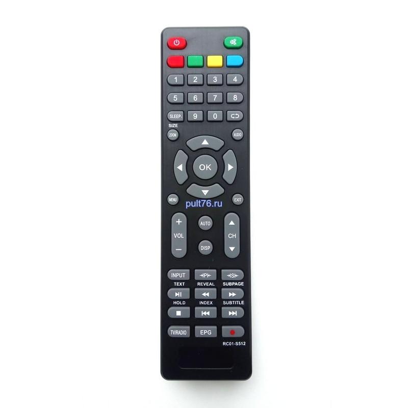 Пульт для телевизора Supra (Супра) RC01-S512