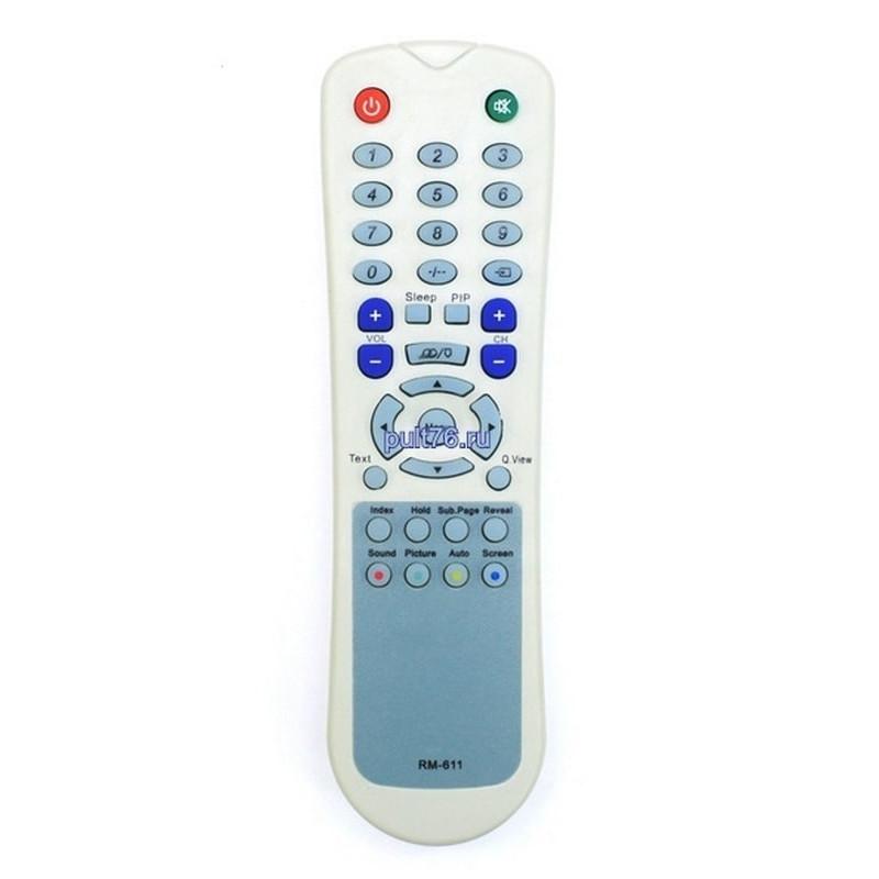 Пульт для телевизора Akai (Акай) RM-611 ( RM-610, DLT2000)