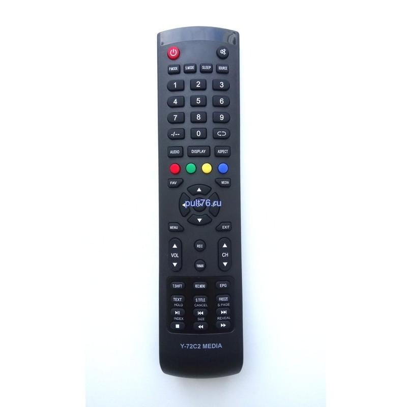 Пульт для телевизора Akai (Акай) Y-72C2 MEDIA