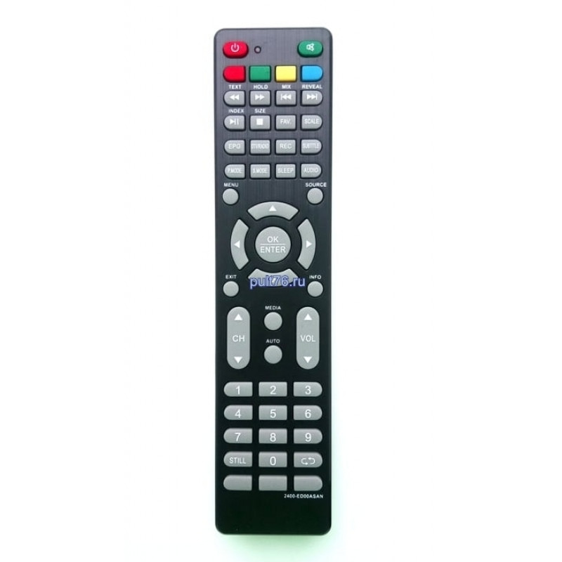 Пульт для телевизора Asano (Асано) 2400-ED00ASAN, 2400-ED0WASAN