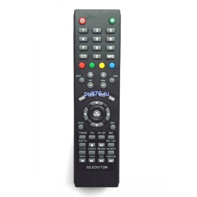Пульт для телевизора Akira (Акира) 32LED01T2M