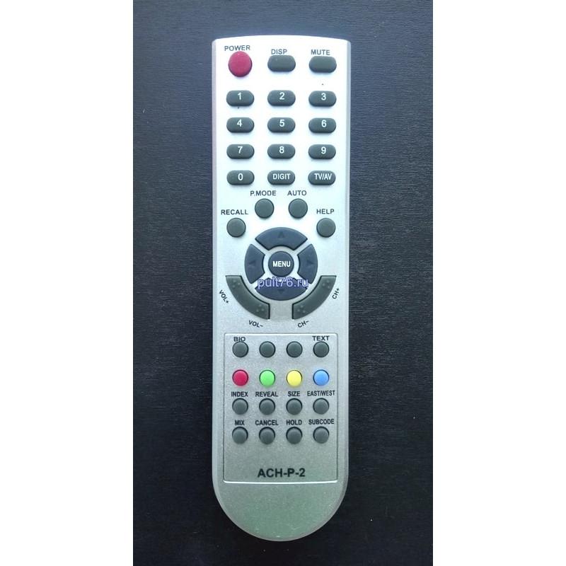 Пульт для телевизора Akira (Акира) ACH-P-2