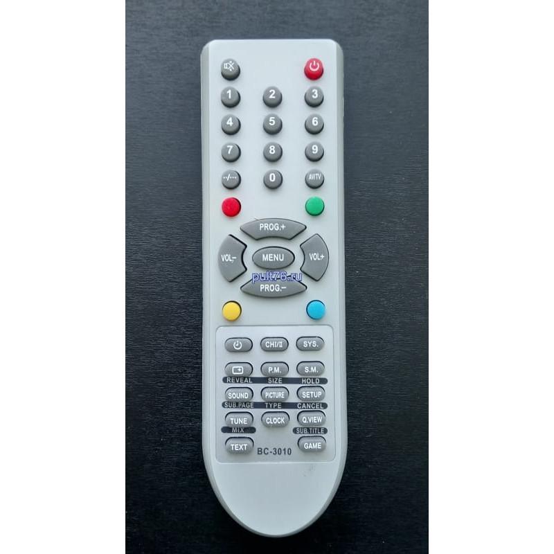 Пульт для телевизора Shivaki (Шиваки) BC-3010-06R