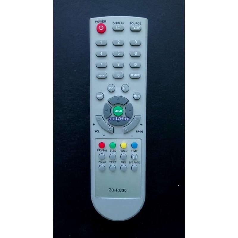 Пульт для телевизора Akira (Акира) ZD-RC30