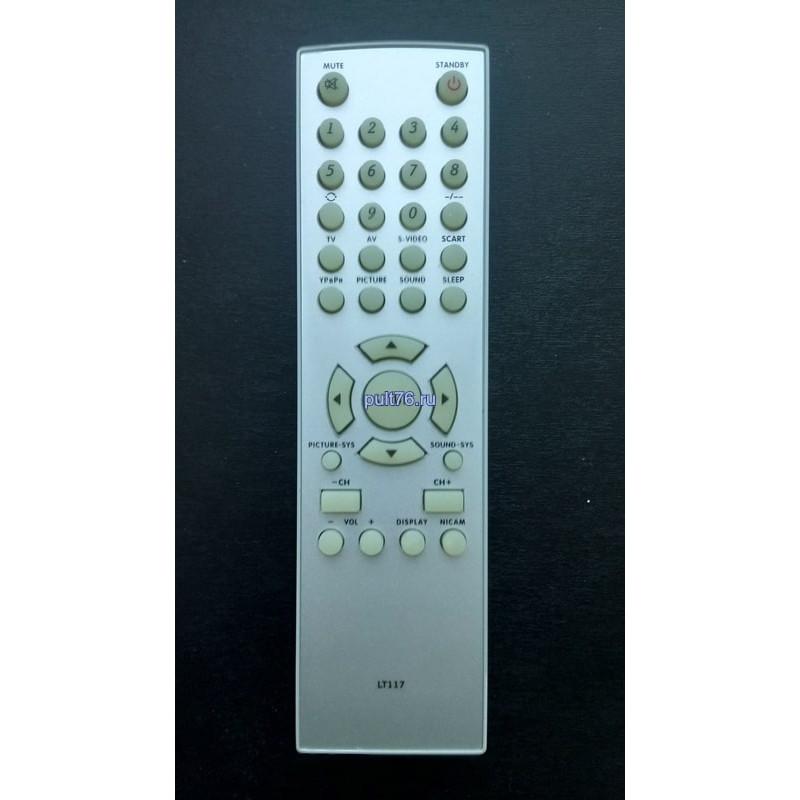 Пульт для телевизора BBK (ББК) LT117  ( LT2000S, LT2002S )