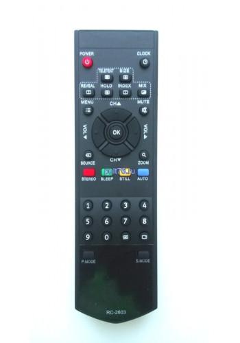 Пульт для телевизора Sanyo (Саньё) RC-2603 (RC-3704)