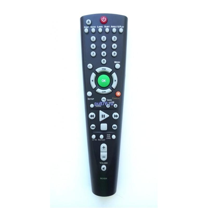 Пульт для телевизора BBK (ББК) RC1524 (LT120)