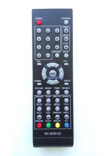 Пульт для телевизора Erisson (Эрисон, Эриссон) RC-SC6122