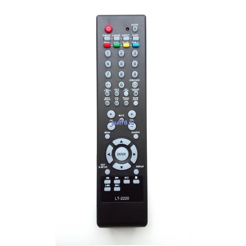 Пульт для телевизора DEX (Дех, Декс) LT-2220