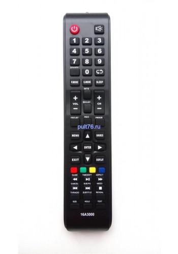Пульт для телевизора AMCV (АМСВ, АМЦВ) 16A3000 CX509-DTV