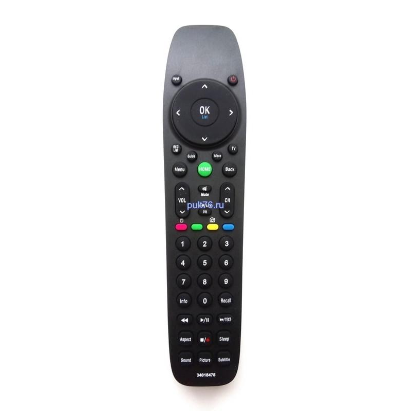 Пульт для телевизора DEXP (Дексп, Дехп) 34018478B/34019640
