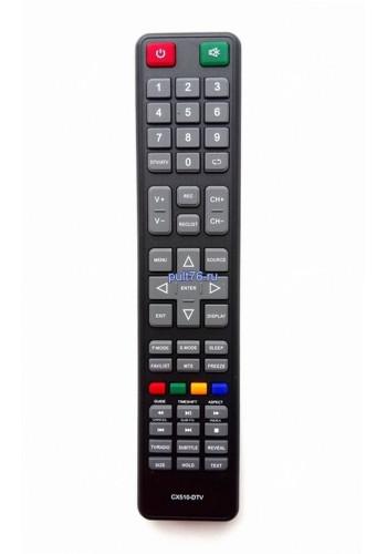 Пульт для телевизора DEXP (Дексп, Дехп) CX510-DTV16A3000