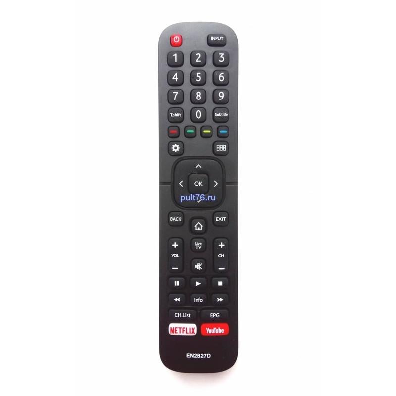 Пульт для телевизора Hisense (Хисенсе, Хайсенсе) EN2B27D