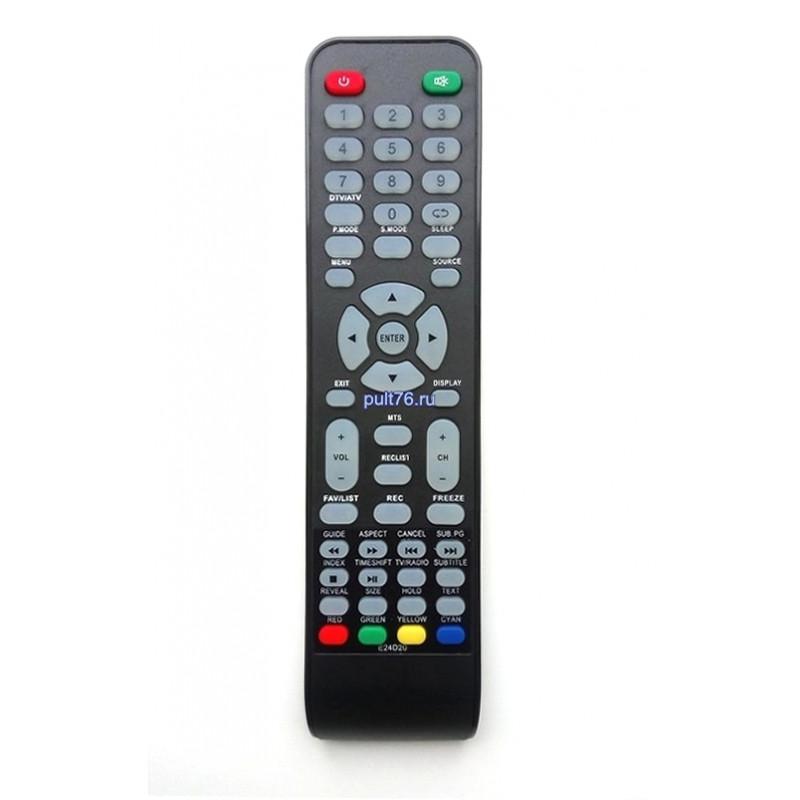 Пульт для телевизора DEXP 507DTV (E24D20)