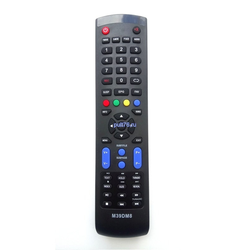 Пульт для телевизора DEXP (Дексп, Дехп) M39DM8/F42B7000М/F46B7000MD