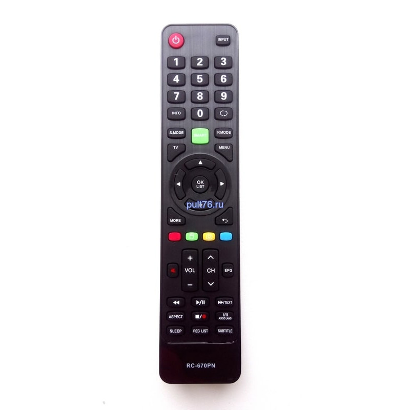 Пульт для телевизора Daewoo (Дэу) RC-670PT