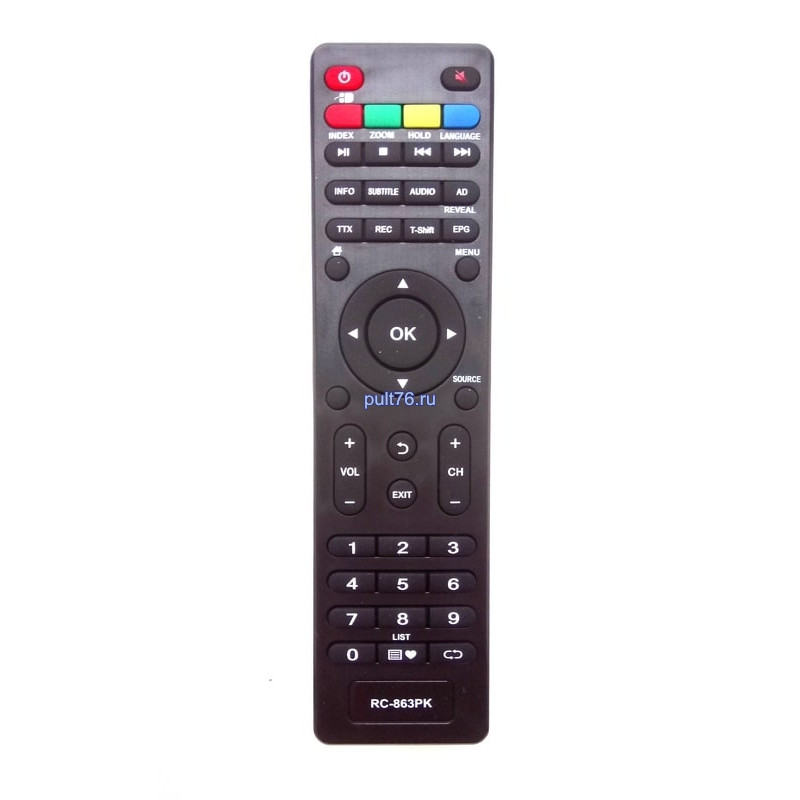 Пульт для телевизора Daewoo (Дэу) RC-863PK