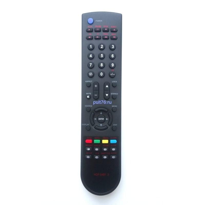 Пульт для телевизора Elenberg HOF-54B1.3 (HOF-54B13, HOF54B13)