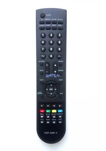 Пульт для телевизора VR (ВР) HOF-54B1.4