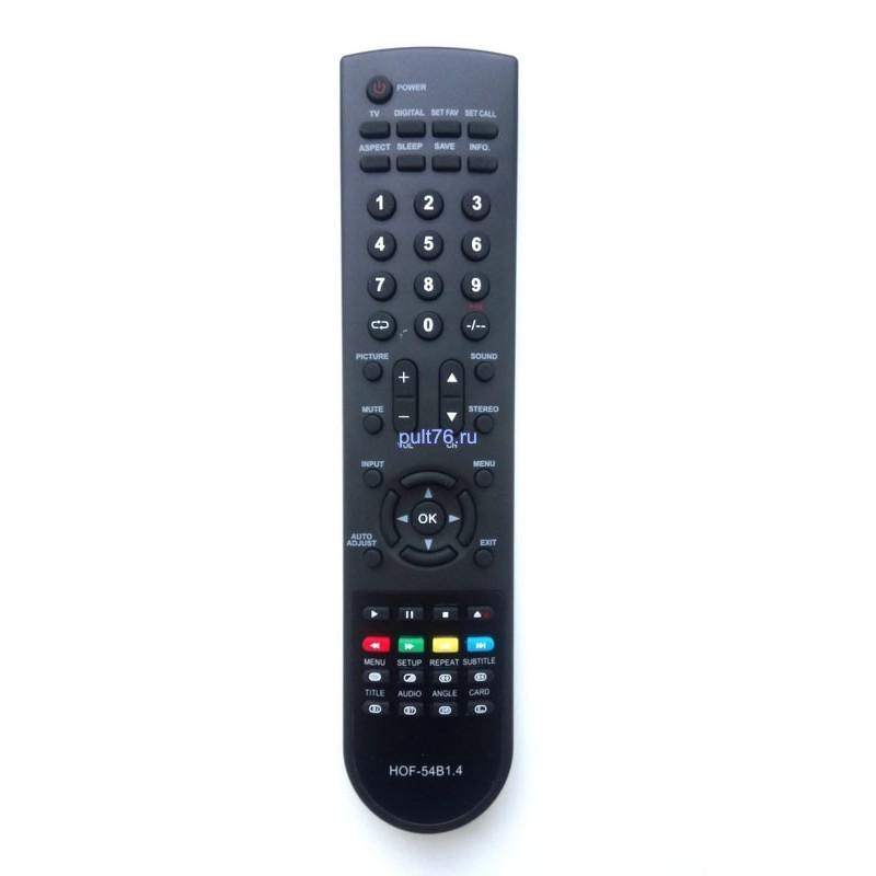 Пульт для телевизора Elenberg (Эленберг, Еленберг) HOF-54B1.4