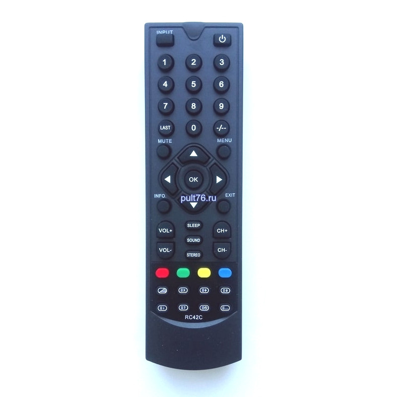 Пульт для телевизора Elenberg (Эленберг, Еленберг) RC42C CTV-1515