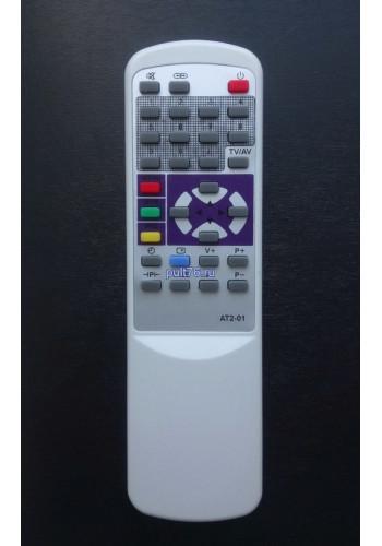Пульт для телевизора Sitronics (Ситроникс)  AT2-01 (2185F)