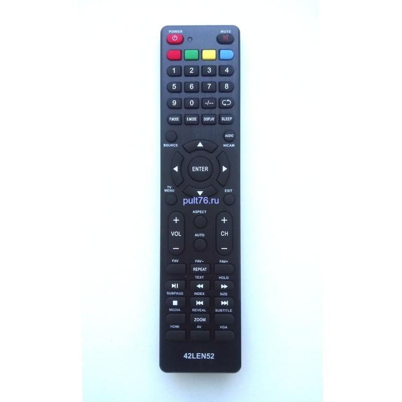 Пульт для телевизора Erisson 28/32/39/42LEN52