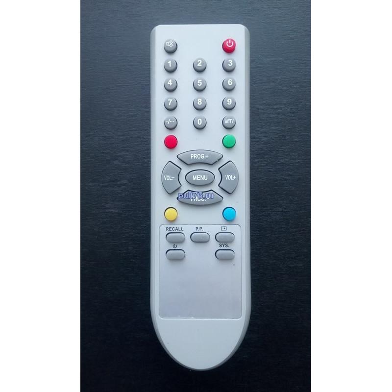 Пульт для телевизора Erisson CT-21HS7/26T-1