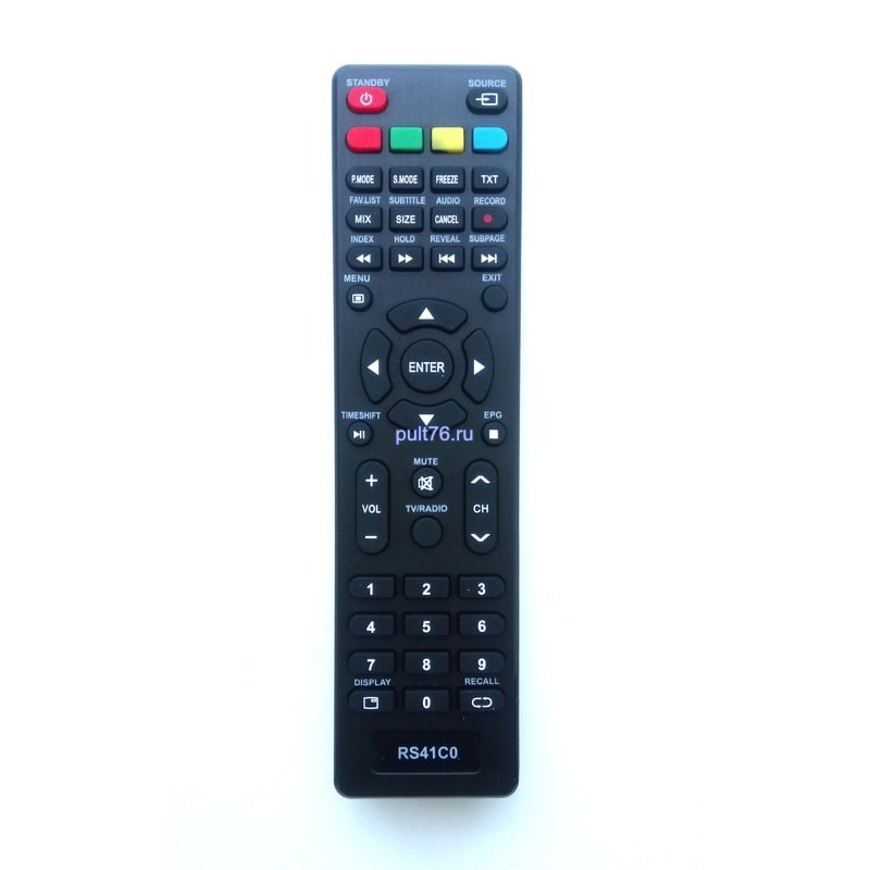 Пульт для телевизора Fusion RS41C0 TIMESHIFT
