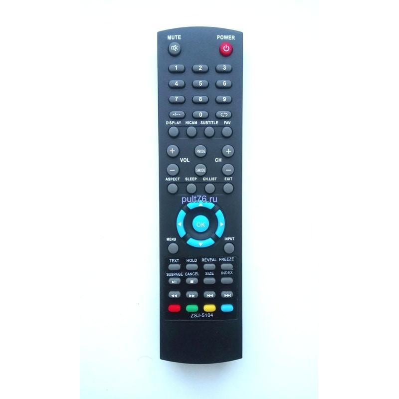 Пульт для телевизора Orion ZSJ-5104 (FLTV-16C10)