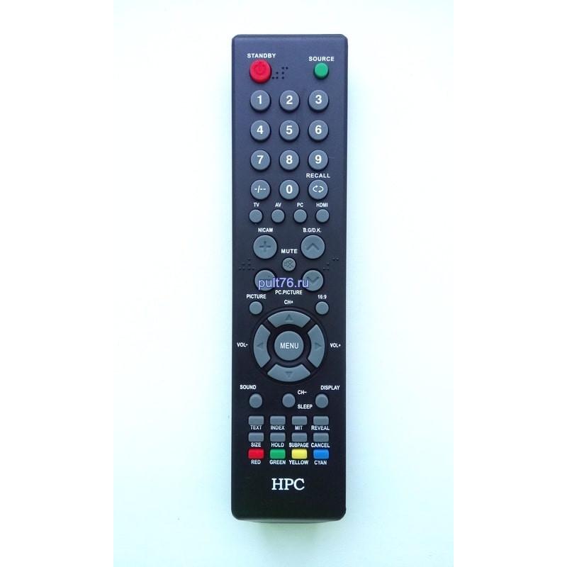 Пульт для телевизора HPC LHS1698, LHS1998, LHS11320