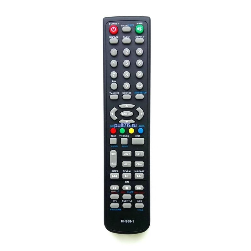 Пульт для телевизора Izumi (Изуми, Изюми) HH988-1