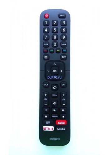 Пульт для телевизора Hisense (Хисенсе, Хайсенсе)  EN2BB27H LCD SMART TV YuoTube