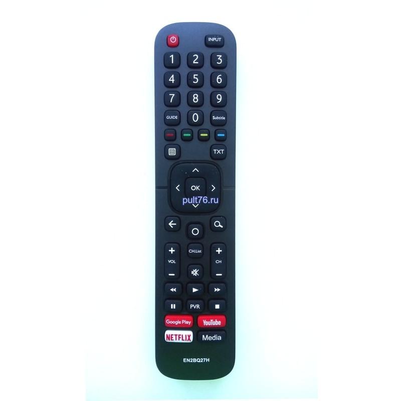 Пульт для телевизора Hisense (Хисенсе, Хайсенсе) EN2BQ27H