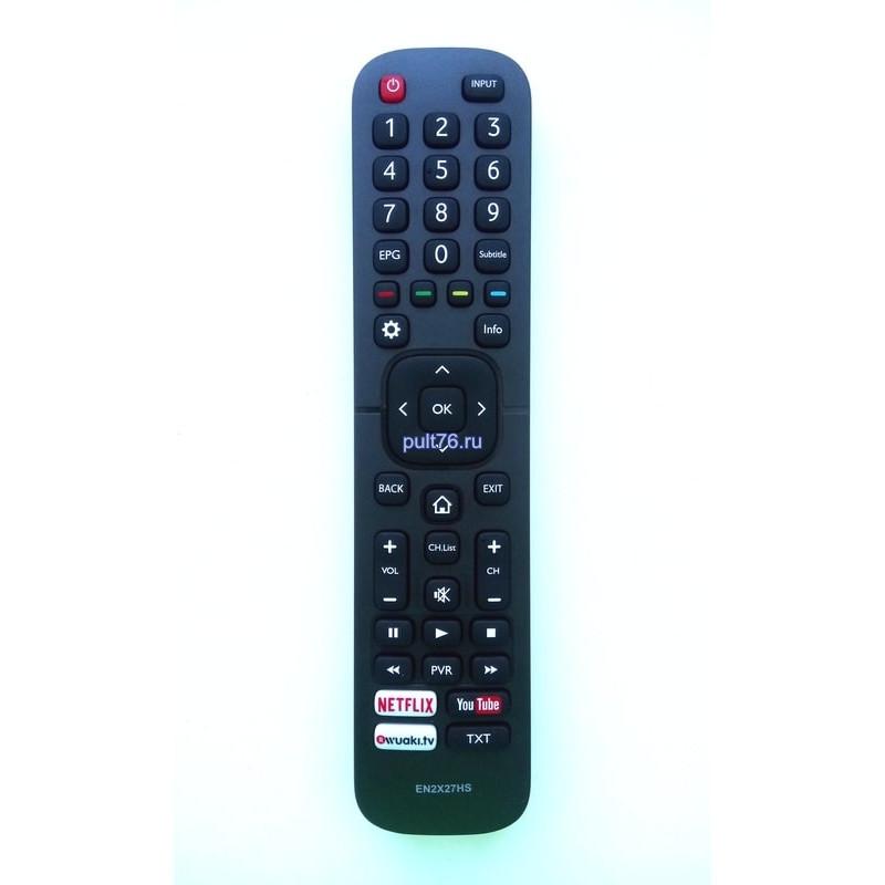 Пульт для телевизора Hisense (Хисенсе, Хайсенсе) EN2X27HS