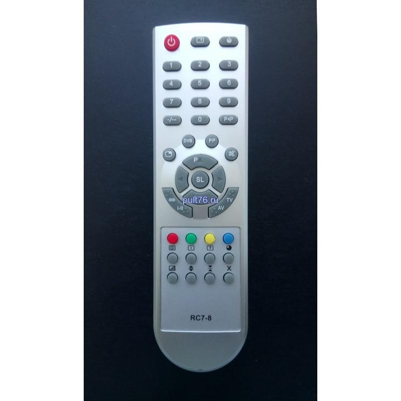 Пульт для телевизора Горизонт (Horizont) RC7-8