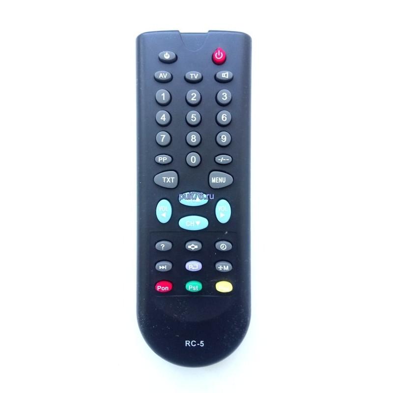 Пульт для телевизора Горизонт (Horizont) RC-5