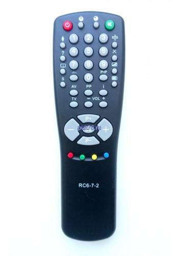 Пульт для телевизора Горизонт (Horizont) RC-6-7-2