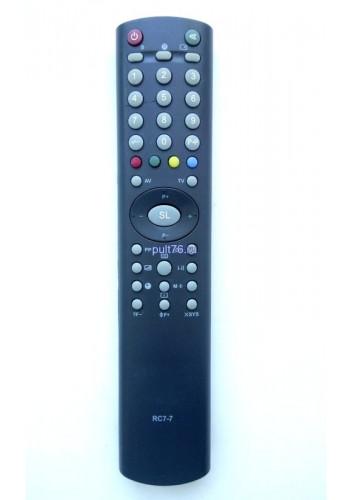 Пульт для телевизора Горизонт (Horizont) RC-7-7 21AF41