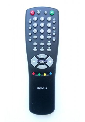 Пульт для телевизора Горизонт (Horizont) RC-6-7-5