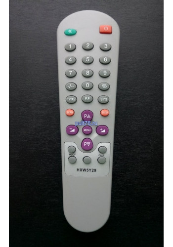 Пульт для телевизора Hyundai (Хундай, Хюндай) 5Y29