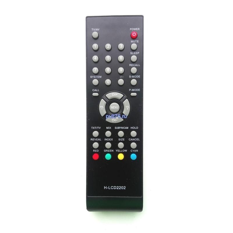 Пульт для телевизора United H-LCD2202