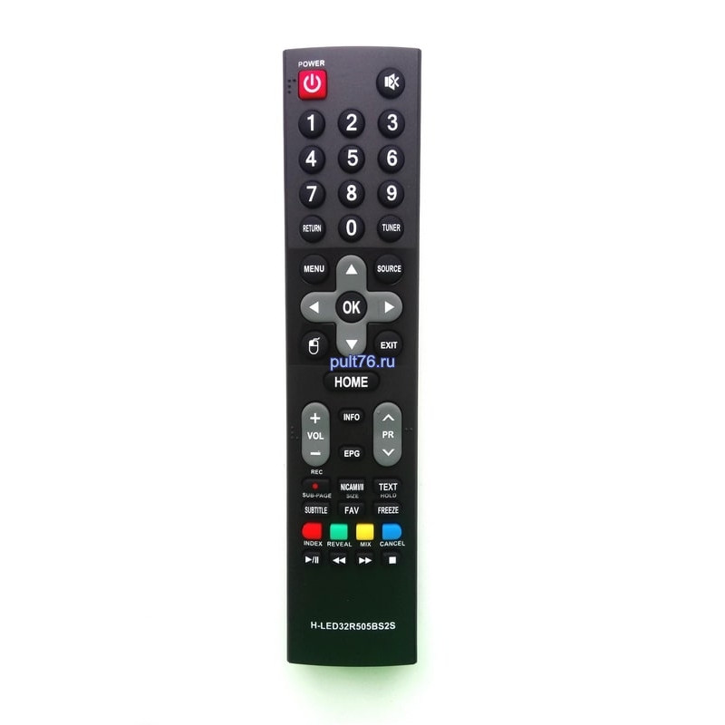 Пульт для телевизора Harper H-LED32R505BS2S