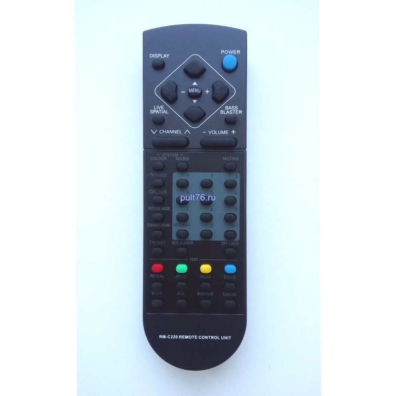 Пульт для телевизора JVC RM-C220 AV-2553 EE