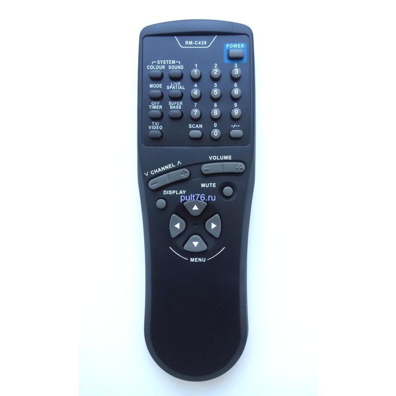 Пульт для телевизора JVC RM-C439