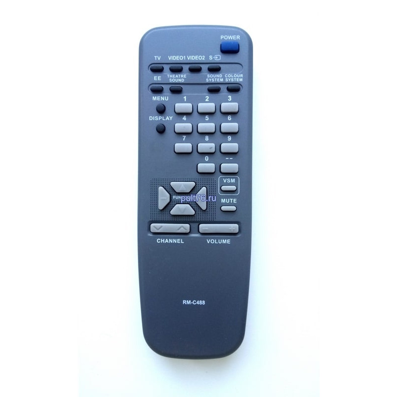 Пульт для телевизора JVC RM-C488