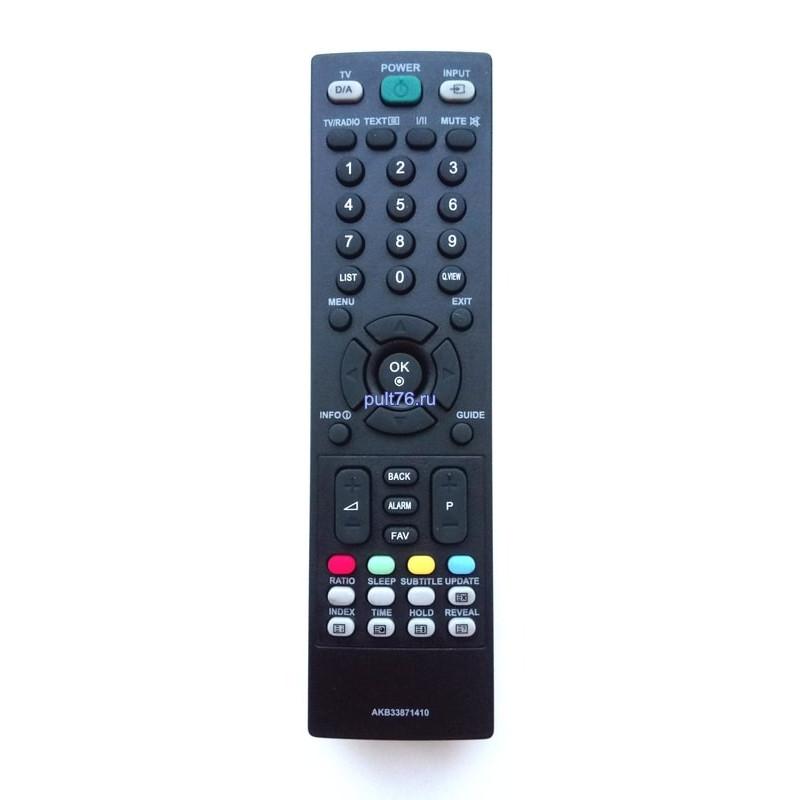 Пульт для телевизора LG AKB33871410