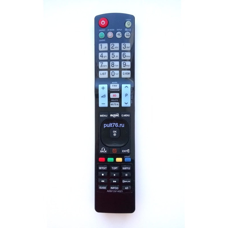 Пульт для телевизора LG AKB72914021