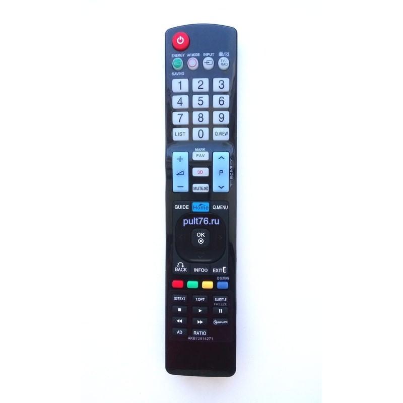 Пульт для телевизора LG AKB72914271
